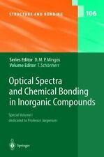 Structure and Bonding: Optical Spectra and Chemical Bonding in Inorganic...