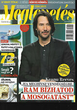 Hungarian Magazine 105 -  Keanu Reeves on Cover