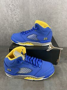New Nike Air Jordan 5 Laney Jsp Ps Athletic Sneakers CI3288-400 Youth Size 2Y