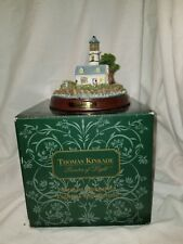 "Thomas Kinkade Lighthouse "" A Light in the Storm"" Collectible Figurine"