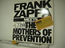 Frank Zappa Signed LP Meets The Mothers Of Prevention