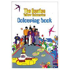 El Beatles para Colorear Libro - Amarillo Submarino - Sgt Pepper Lennon Ringo