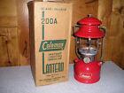 Coleman 200A Single Mantel Lantern 1958 with Original Box *Collectors Grade*