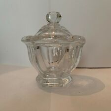 Baccarat France Crystal Candy Dish With Lid Missouri Pattern
