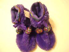 Capelli New York Girls Slipper Shoes Boot Sz 12/13 Purple Kids Children
