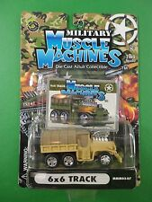 Muscle Machines Military 6x6 Track 1/64 Diecast New in Pack