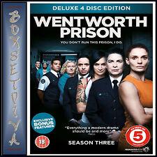 WENTWORTH PRISON - COMPLETE SEASON 3 * BRAND NEW DVD***