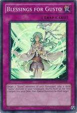 Blessings for Gusto Yugioh Trap Card Super Rare HA05-EN059