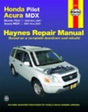 Honda Pilot Acura MDX: Honda Pilot - 2003 thru 2007 - Acura MDX - 2001-ExLibrary