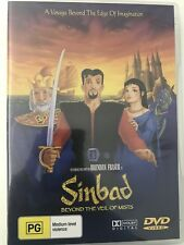SINBAD BEYOND THE VEIL OF MISTS - DVD R ALL