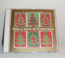 """""""SING A SONG OF CHRISTMAS"""" CD W/MOST POPULAR SONGS FESTIVE INSPIRATIONAL MUSIC"""