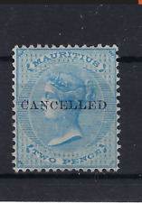 MAURITIUS Queen Victoria 1860 Two Pence Blue Wmk SG 46 MNG , see scan . LOT 379