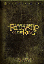 NEW The Lord of the Rings: The Fellowship of the Ring (DVD, 2002, 4-Disc Set)