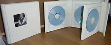 Deluxe Ivory Quad Faux Leather DVD Case Ideal For Weddings Discs And More
