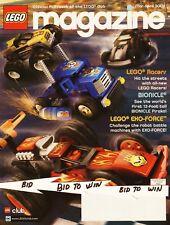 LEGO Magazine Publication Playbook of Lego Club 2006 Racers Bionicle Exo- Force
