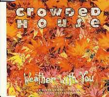 CROWDED HOUSE - Weather with you 4TR CDM 1992 POP ROCK / Holland Print
