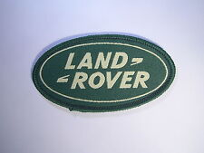 LAND ROVER WOVEN OVAL BADGE