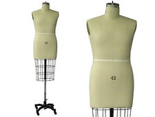 Professional Pro Working dress form, Mannequin, Male Half Size 42, w/Hip