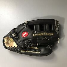 "Louisville Slugger SOFTBALL GLOVE 14"" LPS5  Leather Baseball RHT Good Condition"