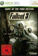 XBOX 360 Fallout 3 GOTY Edition Incl. 5 Addons * COME NUOVO