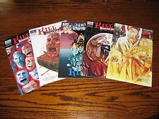 IDW - KILL SHAKESPEARE Tide of Blood #2,3,4,5 Comic Lot!!  Glossy VF+ 2013