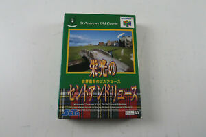 Nintendo 64 Game St Andrews Old Course Japanese Import