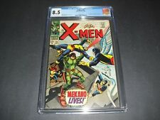 X-Men #36 CGC 8.5 w/ OW/W pages from 1967! Marvel 1st app Mekano Marvel Comics
