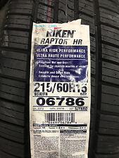 1 New 215 60 15 Riken Raptor HR Tire