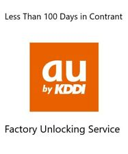 Japan AU KDDI Premium Unlocking All iPhone in Contract Less Than 100 Days