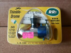 Cox Thimble Drome .049 RR1 Model Airplane Engine