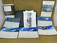 Mercedes W203 C Class Owners Manual Handbook Book Pack 04-08 C180 C200 C220cdi