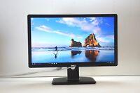 "Dell 24"" P2412H Widescreen LCD Monitor FULL HD TFT SCREEN DVI VGA GRADE A"