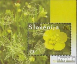 slovenia Block42 (complete issue) unmounted mint / never hinged 2009 Wildflowers