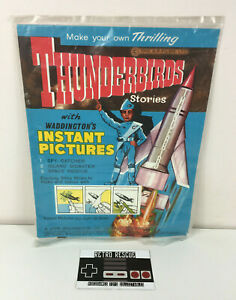 Thunderbirds Letraset Transfers Set 1965 60s NEW Waddington's Instant Pictures