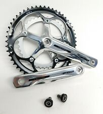 FSA Tempo 9 Speed 53/39 Road Crankset Silver/Polished 170mm for Square Taper BB