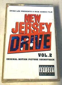 New Jersey Drive Vol 2 CASSETTE Original Motion Picture Soundtrack NEW SEALED