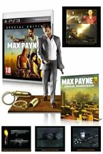 PlayStation 3 Max Payne 3 Special Edition Collectors Set, PS3