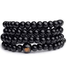 Fashion Mens Womens Infinity Multilayer Beaded Charm Bracelet Handmade Jewelry