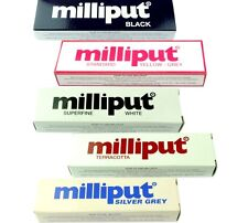 5 Packs of Epoxy Putty Milliput, 1 Pack of Each, Modelling Sculpt Repair. X8131