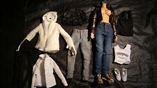 1:6 1/6 actionfigur weiblich female Kleidung Hose Jacke Body Rock Schuhe