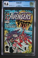 AVENGERS #247 ORIGIN ETERNALS Titan Earth 1984 She-Hulk Rambeau Uni-Mind CGC 9.6