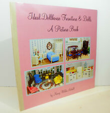 SHIPS FREE! IDEAL PICTURE BOOK Vintage Miniature Dollhouse Furniture Book Renwal