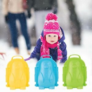 Penguin Snow Mold Snowball Maker Clip Snow Sand Mould Toy Outdoor Winter Kid DIY