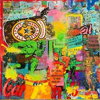 MR CLEVER ART JUXTAPop COLLAGE contemporary pop art deco street abstract print