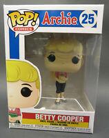 Funko Pop Comics Archie Comics Betty Cooper #25 Vinyl Figure NIB