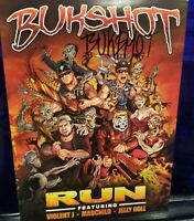 Bukshot - Run CD feat. Violent J of Insane Clown Posse Madchild horrorcore icp