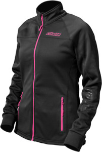 New Women's Castle Fusion Mid-Layer Jacket G1~ Black/Magenta ~ S ~ # 78-2002