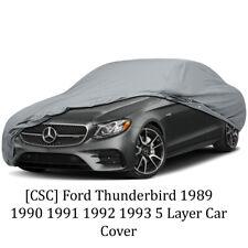 [CSC] Ford Thunderbird 1989 1990 1991 1992 1993 5 Layer Car Cover
