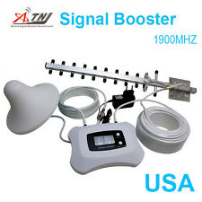 Cellphone signal booster 3g 4g 1900MHz SMART LCD DISPLAY 3200sq ft