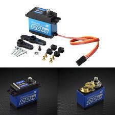 Power HD LW-20MG Servo For 1/10 1/8 RC Car RC Model JR/futaba Compat